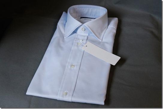 水色の鎌倉シャツ外観