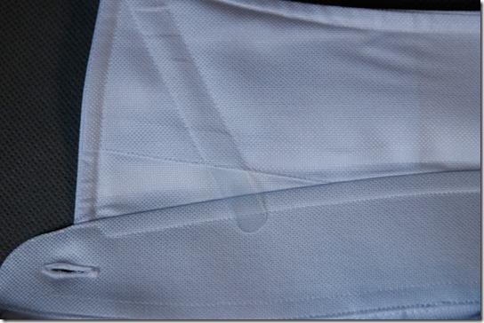 鎌倉シャツ、シャツ襟裏のカラーステイ