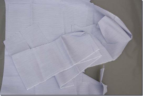 シャツ布の残布