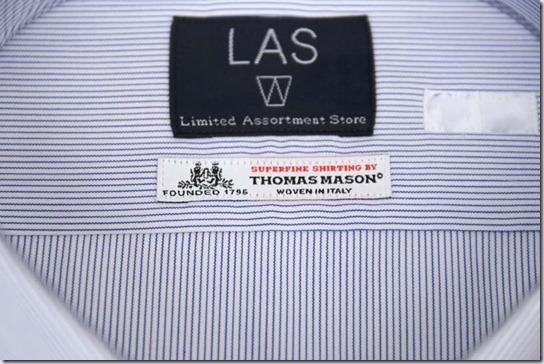 トーマスメイソンの織りネーム
