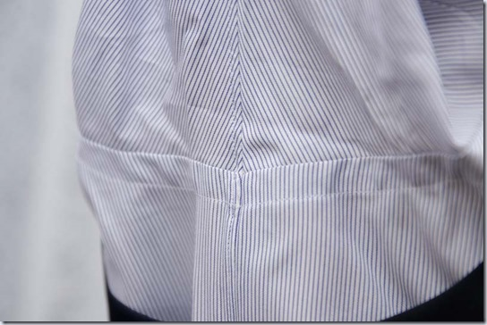 シャツの脇部分
