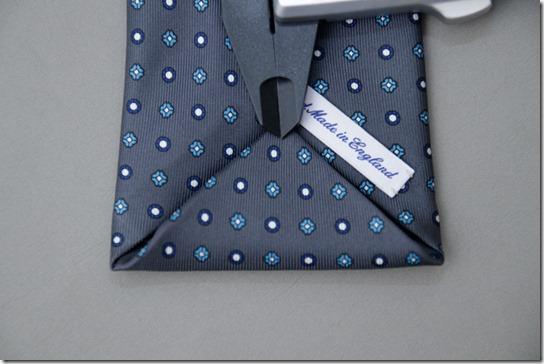 ネクタイの大剣の裏側