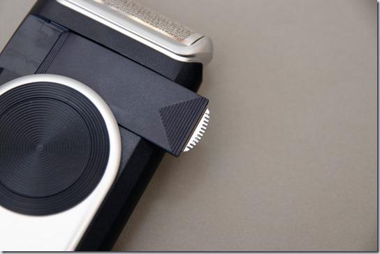 ブラウンM-90のキワ剃り刃
