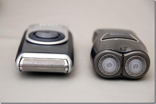 ブラウンM-90とフィリップスPQ220の比較