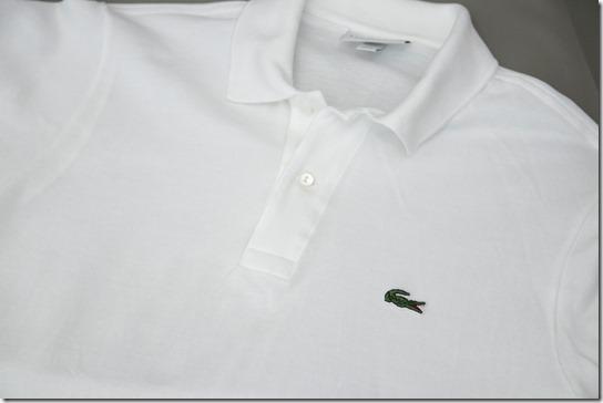 ラコステのポロシャツ